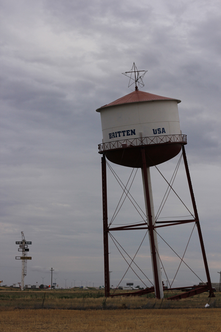 Leaning Water Tower Britten