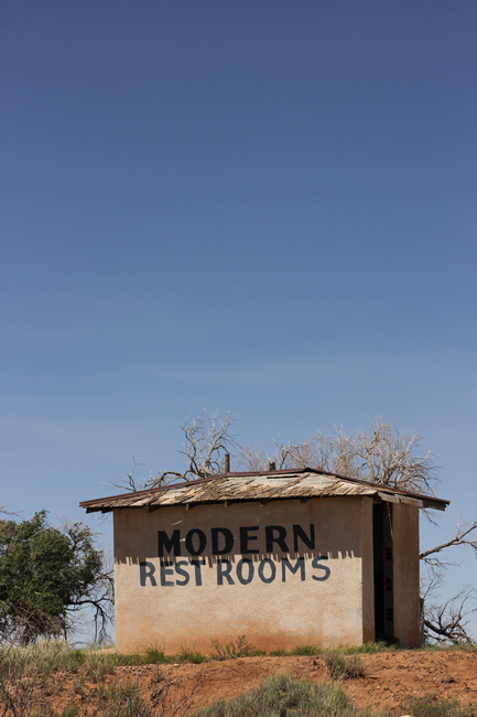 Route 66 Modern Restrooms