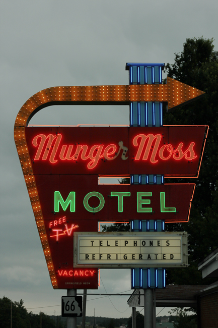 Munger Moss Sign