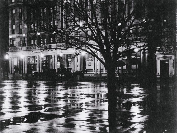 Alfred Stieglitz - Reflections